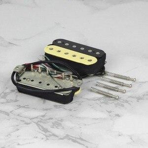 Image 3 - FLEOR מאלניקו 5 Humbucker זוגי סליל גיטרה חשמלית צוואר או גשר זברה צבע