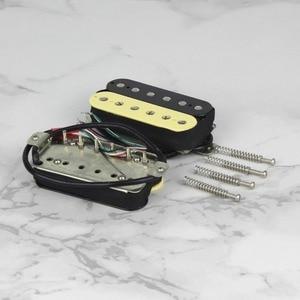 Image 3 - FLEOR Alnico 5 Humbucker Pickup Double Coil Electric Guitar Pickup Neck or Bridge Zebra Color