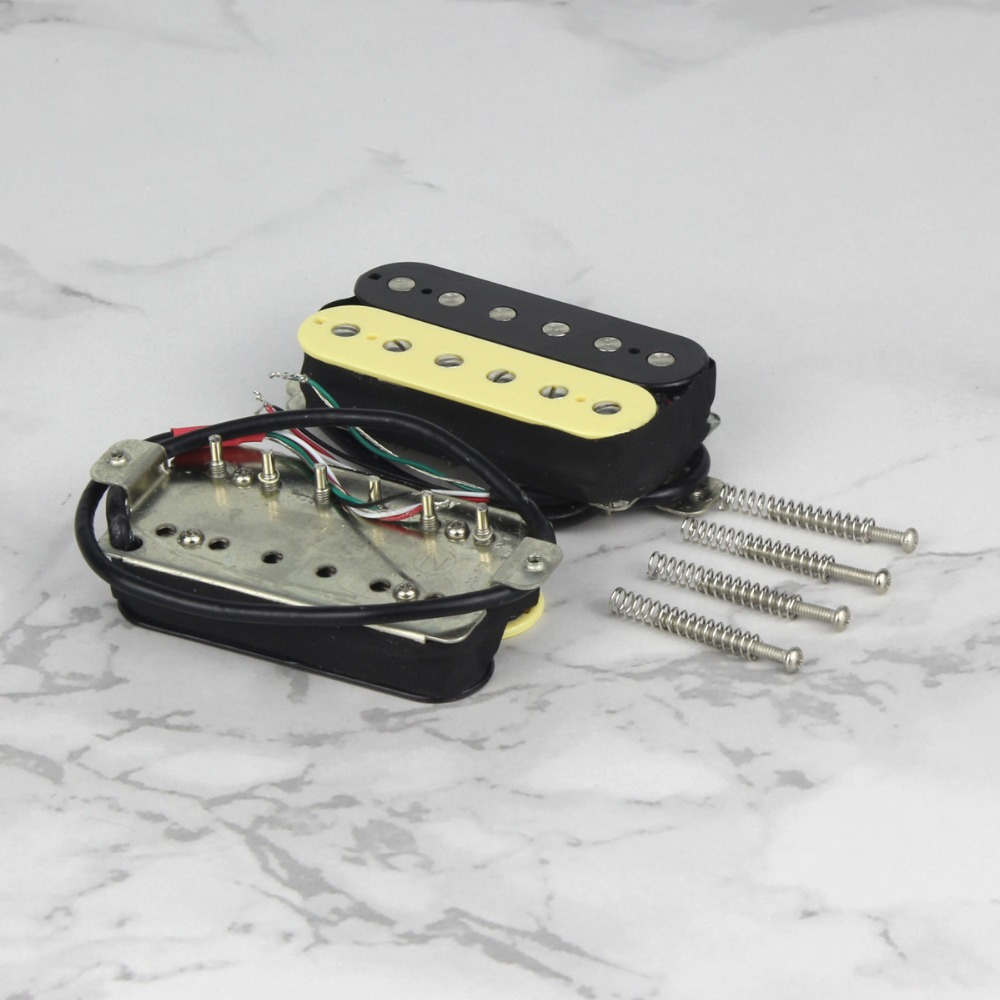 Image 3 - FLEOR Alnico 5 Humbucker Pickup Double Coil Electric Guitar Pickup Zebra Neck or Bridge Pickup Choose for FD-in Guitar Parts & Accessories from Sports & Entertainment
