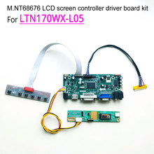 For LTN170WX-L05 laptop LCD monitor LVDS 1440*900 30 pins 60Hz CCFL 1-lamp 17″ M.NT68676 display controller driver board kit