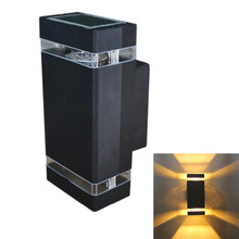 Jiawen modern outdoor waterproof Dimmable 8W wall lighting / outdoor wall lamp / LED Porch Lights/Balcony Lamp  (AC 85~265V))