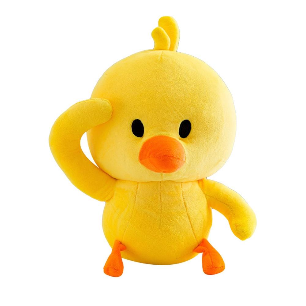 Cute Popular Little Duck Plush Funny Emoji Toys Soft Stuffed Dolls Kids New Arrival Xmas Gift