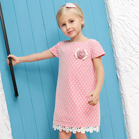 Baby Flower Girl Evening Dress 2016 Summer Style Fashion Lace Princess Dresses Kids Dresses Children Clothes