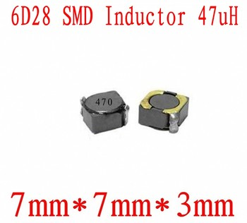 NEW SMD Inductors 6D28 47UH Chip inductor 7*7*3mm Shielding Power inductance 1000 PCS