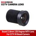 Tablero de 2.8mm de 120 Grados LENTE Gran Angular Para la Cámara de Seguridad CCTV