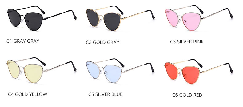 HTB1mRldSFXXXXXeXXXXq6xXFXXXS - Red Cat Eye Transparent Lens Vintage Sunglasses Retro 70s Design