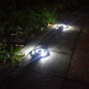 Image 5 - Solar LED Dock Path Deck Road Stud Maker Light Waterproof Security Lights Lamp Outdoor Driveway Pathway Yard  Garden Step Lamp