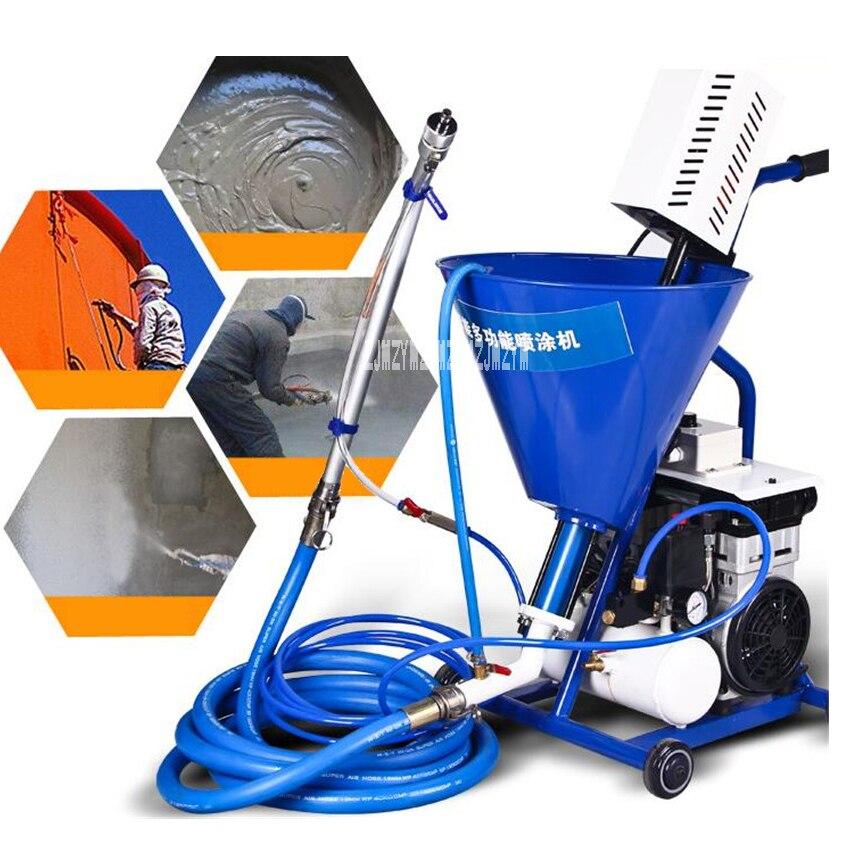 Machine multifonctionnelle de pulvérisation de mastic de revêtement ignifuge imperméable industrielle de Machine de pulvérisation H11/H12 220 V 1600 W 10L/min 40L