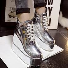 2018 new autumn women Martin boots high heel inside ankle boots for women  fashion women boots thick platform  shoes woman цены