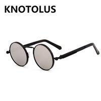 5156b9440 Pink Mirror Sunglasses Men Steampunk 2019 Metal Frame Retro Vintage Round  Sun Glasses For Women Black. US $11.50. Óculos De Sol Dos Homens do Espelho  ...