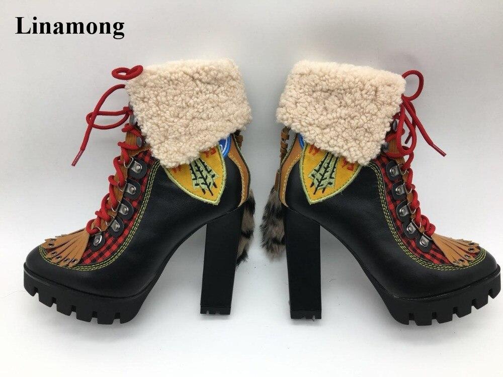 Новинки для женщин модные с острым носком замшевые ботфорты на квадратном каблуке Ботильоны Сапоги и ботинки для девочек винтажные пикантн
