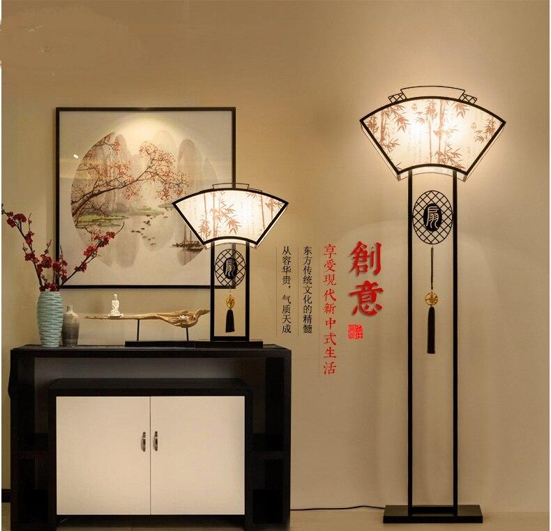 US $236.0 |Antique retro soggiorno lampada da terra moderna minimalista  hotel room studio dinette camera da letto classica decorazione LU728313-in  ...