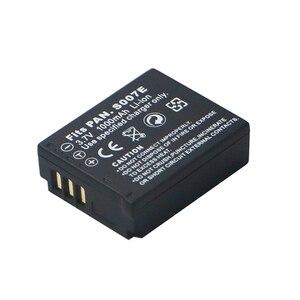 Image 1 - 3.7 v 1000 mAh CGA S007 CGA CGR BCD10 S007A S007 S007E סוללה עבור Panasonic DMC TZ1 TZ2 TZ3 TZ4 TZ5 TZ15 TZ50 bateria סוללות
