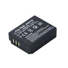 3.7 v 1000 mAh CGA S007 CGA CGR S007E S007 S007A BCD10 Batterie pour Panasonic DMC TZ1 TZ2 TZ3 TZ4 TZ5 TZ50 TZ15 Batteries bateria