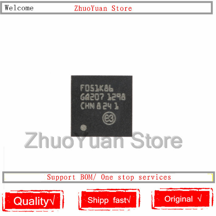1PCS/lot New Original STM32F051K8U6 QFN-32 STM32F051 UFQFPN32 IC Chip