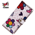 Purchase BRITTO  Wallets Fashion Trends Multi-card Position Two Fold Wallets Lady Long Button Clutch Purse Card Holder