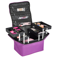 Professional Make Up Bag Women Cosmetic Bags Case High Quality Oxford Female Korean Makeup Box Large