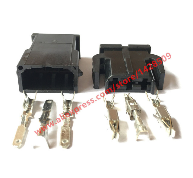 5 Sets 3 Pin 893 971 993 893971633 Male Auto Wire Harness ...  Wire Harness Connector on 3 wire wiring harness, 3 wire power connector, 3 pin connector, 3 hose connector, screw terminal connector, 3 terminal connector, 6 pin wire connector,