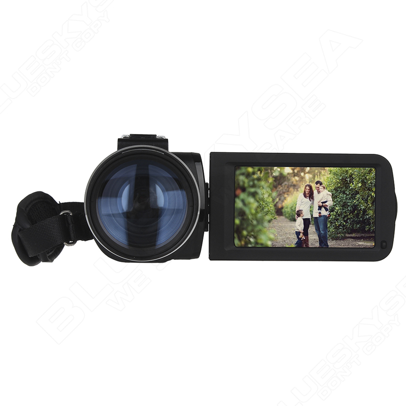 ORDRO Digital Video Camcorder Camera 1080P 24MP+0.45X Wide Lens+2X Teleconvertor Free shipping 17