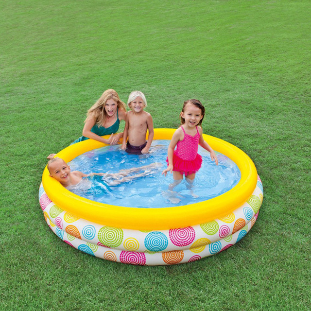 Large Square Baby Swimming Pool For Kids Inflatable Plastic Pools
