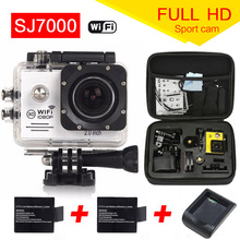 Camera WIFI 12MP Full HD 1080 P 30FPS 2.0 «ЖК-Дайвинг 30 М Водонепроницаемая Камера Спорта mini cam Шлем Спорта камеры
