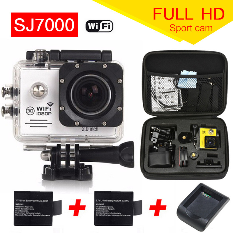 gopro hero 4 camera Action Camera WIFI 12MP Full HD 1080P 30FPS 2 0 LCD Diving