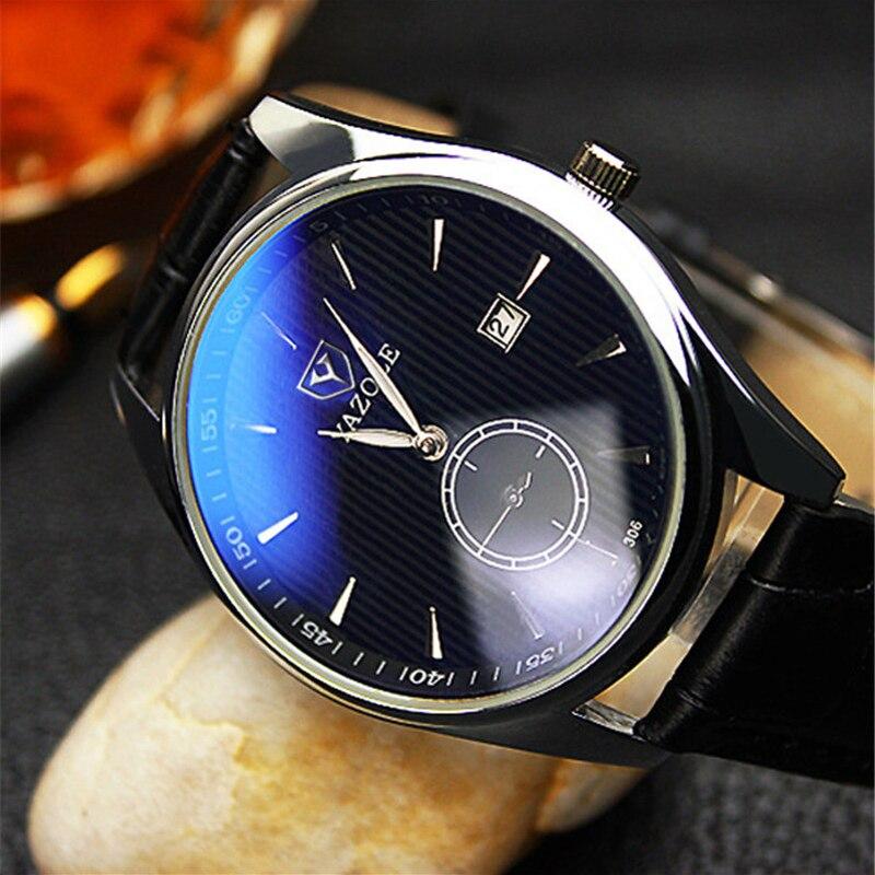 YAZOLE de lux din Marea Britanie cuarț ceas bărbați de moda din - Ceasuri bărbați