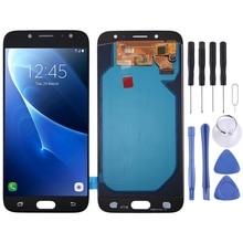 จอ LCD คุณภาพสูง Digitizer Full Assembly Oled เปลี่ยนสำหรับ Samsung Galaxy J7 (2017) j730FM/DS กับเครื่องมือ