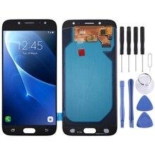 Wysokiej jakości ekran LCD Digitizer pełna zgromadzenia Oled klosz szklany wymienny do Samsung Galaxy J7 (2017) j730FM/DS z narzędzia