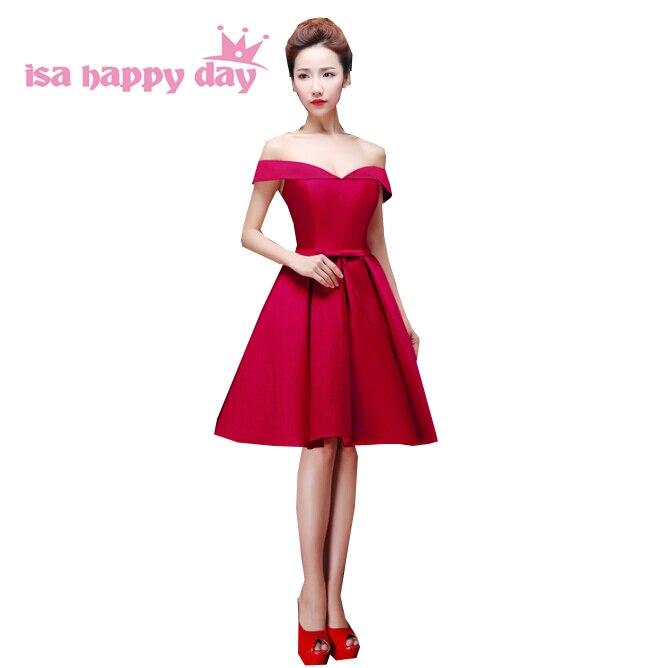 Red short dresses for teens