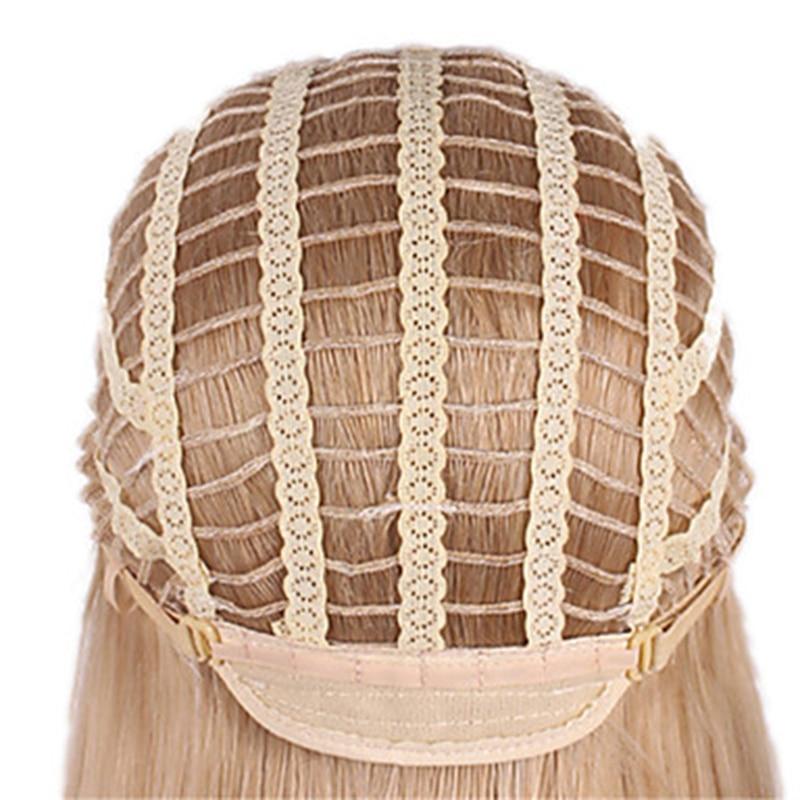 HAIRJOY Γυναίκα Ξανθιά Μικτή Σύντομη - Συνθετικά μαλλιά - Φωτογραφία 6