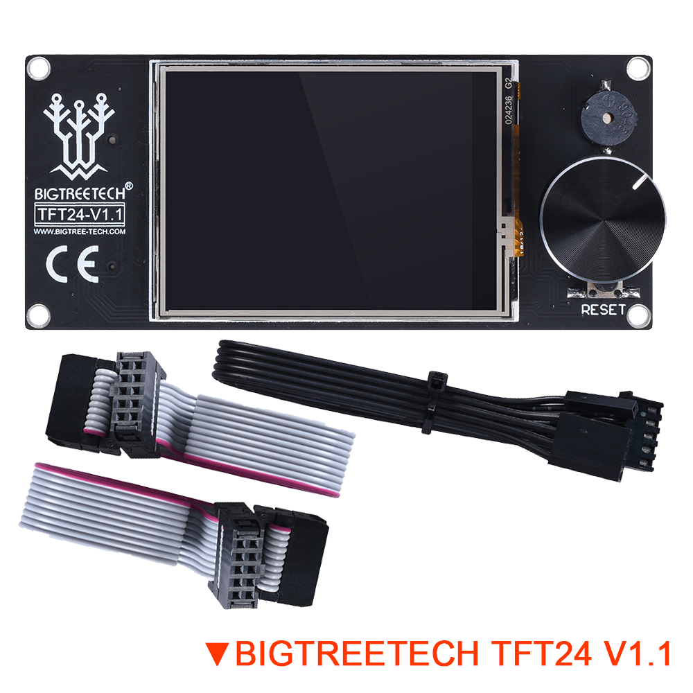 BIGTREETECH TFT24 V1.1 Display Similar 12864 LCD Touch Screen DIY Modes For Ender 3 3D Printer Board Panel SKR V1.3 PRO UART