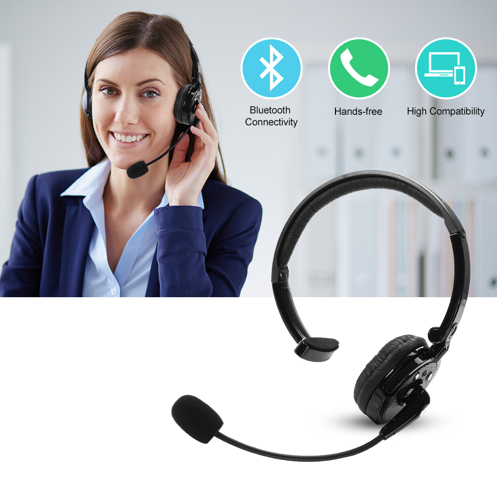 Mono Bh M10b Multi Point Wireless Bluetooth Headphone Headset Earphone 320 With Mic For Truck Driver Ps3 Mobile Phone Computer In Earphones