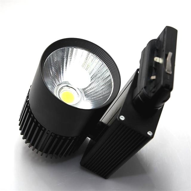 led verlichting track 35 w cob moderne wandlamp voor railway rail industrile keuken kleding schoenen