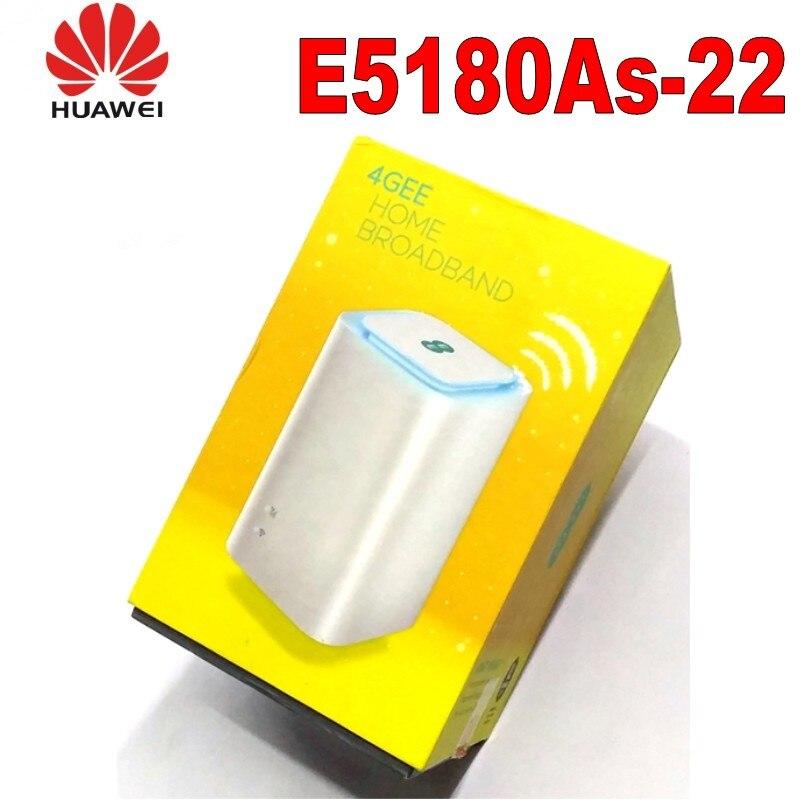 Huawei E5180 4G LTE Cube E5180As-22 routeur Modem 150 Mbit/s Port LANHuawei E5180 4G LTE Cube E5180As-22 routeur Modem 150 Mbit/s Port LAN