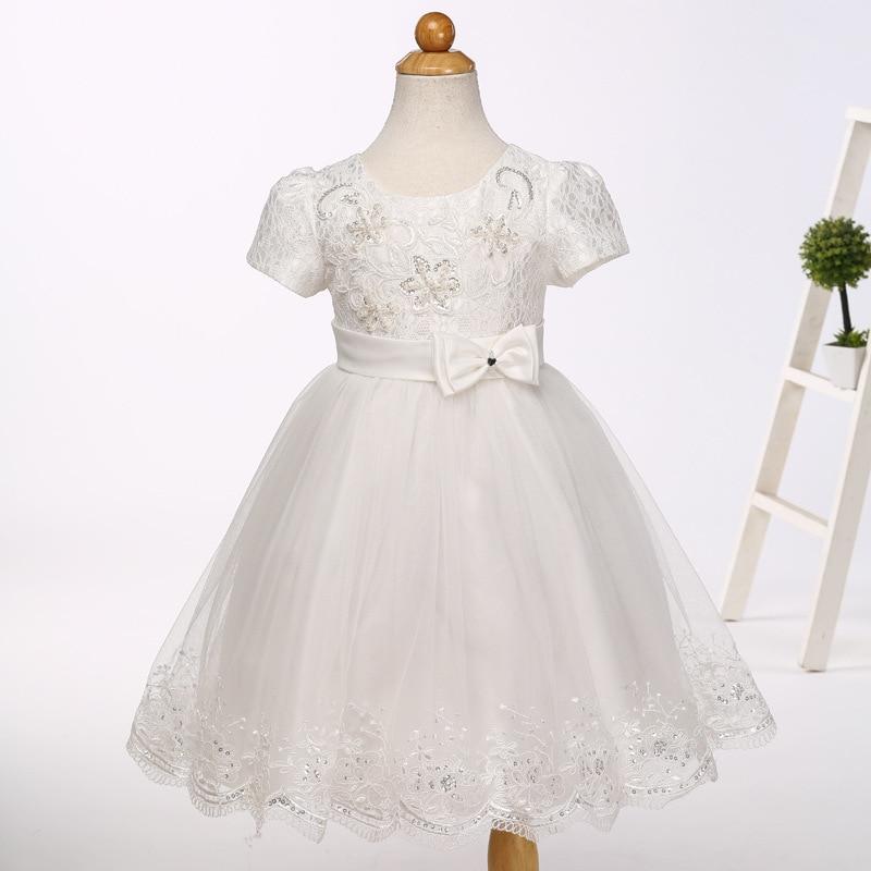 Платье с цветочным рисунком для новорожденных; От 1 до 3 лет для маленьких девочек; одежда для дня рождения; Детские Летние Платья с цветочным