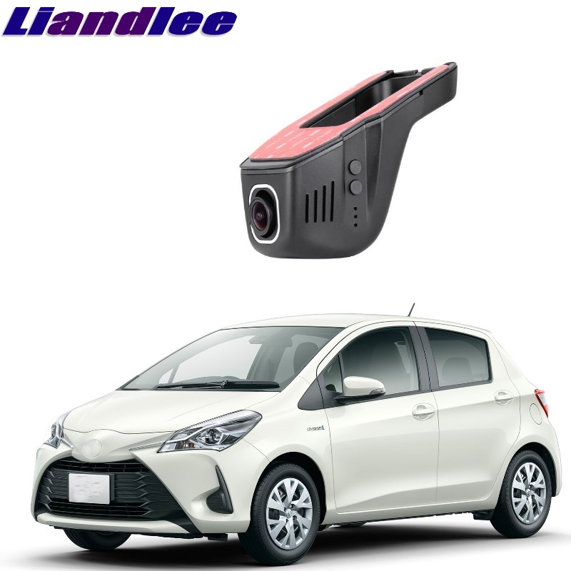 Liandlee For Toyota Vitz / Echo / Yaris / Vizi XP90 XP130 2005~2018 Car Black Box WiFi DVR Dash Camera Driving Video Recorder цена