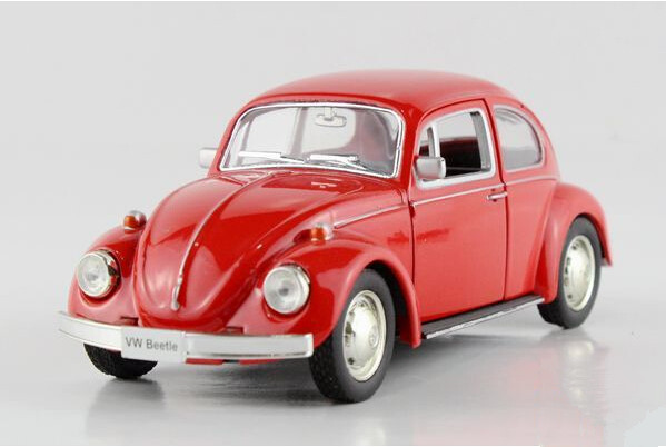 UNI FORTUNE 1:32 Volkswagen beetle 1967 old car Alloy model toys Children like the gift-in ...