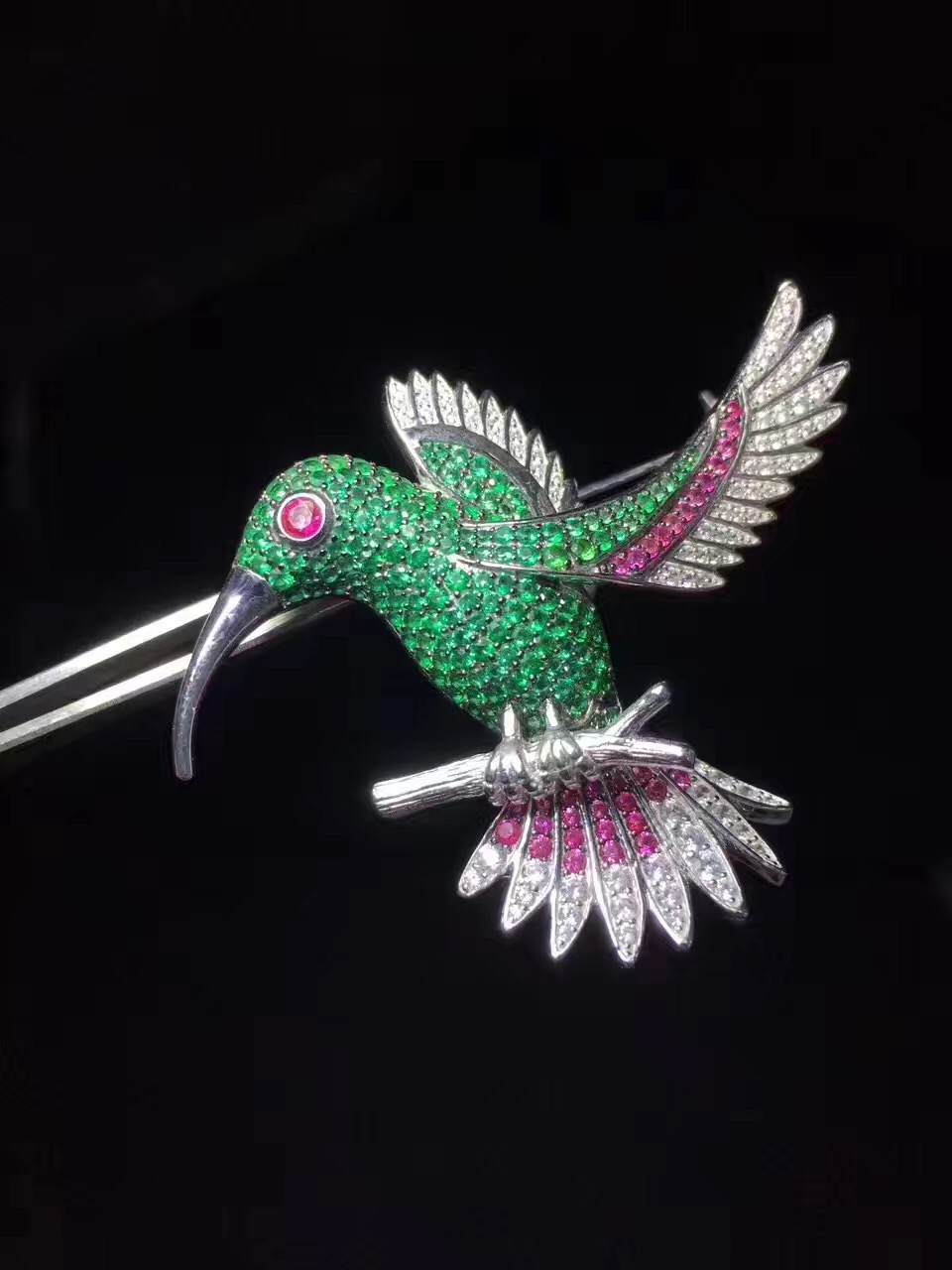 green color 925 sterling silver with cubic zircon bird brooch pins fashion women jewelry free shipping green color 925 sterling silver with cubic zircon bird brooch pins fashion women jewelry free shipping