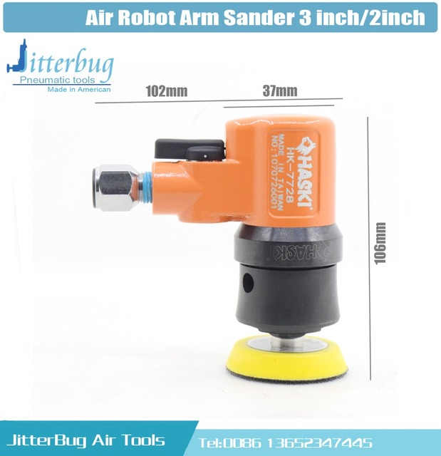 Top Industriële Mini Air Excentrische Schuurmachine Automatische CG34
