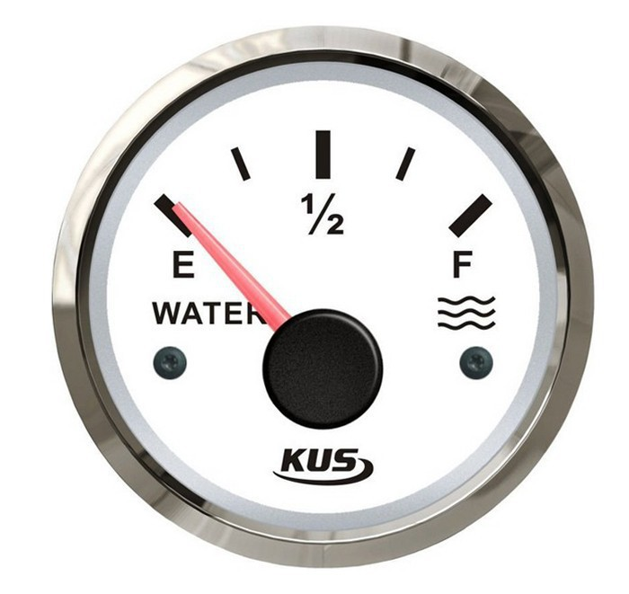 52mm liquid tank level gauge for vehienlar marine yacht motorcycle boat car instrument acessories white (240-33ohm) s3 e300mm 0 190ohm float switch fuel water oil liquid tank motion level sensor gauge for auto boat marine car yacht accessories