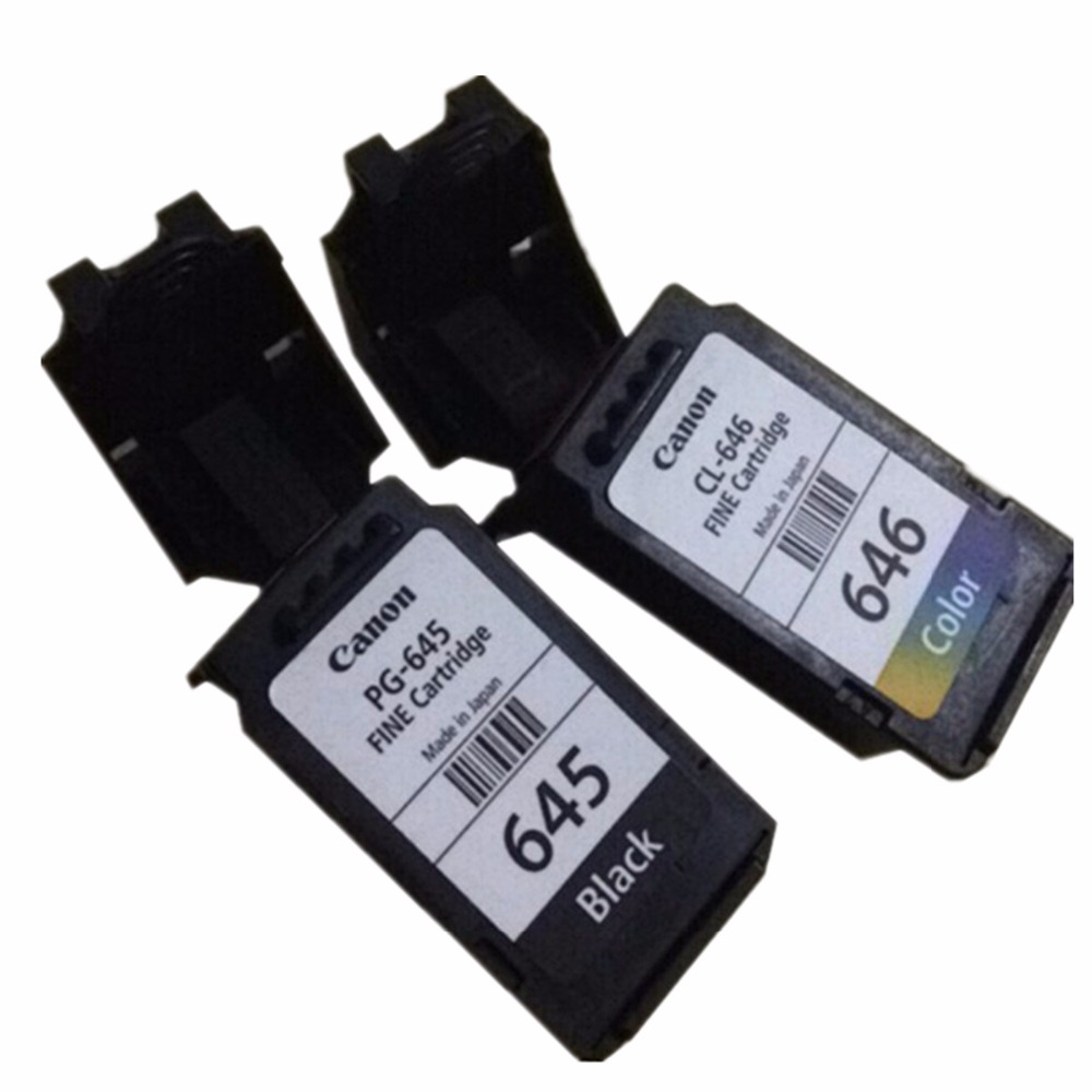 Remanufactured Ink Cartridges For Canon PG-645 XL PG-645XL PG 645 PG645 Pixma MG2460 MG2560 MG2960 MG2965 MG2400 MG2580 Inkjet image