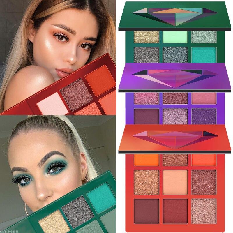 US $1.69 45% OFF|CmaaDu Glitter Eyeshadow Makeup Pallete Matte Eye shadow Palette Shimmer and Shine Diamond Eyeshadow Powder Pigment Cosmetics-in Eye Shadow from Beauty & Health on Aliexpress.com | Alibaba Group