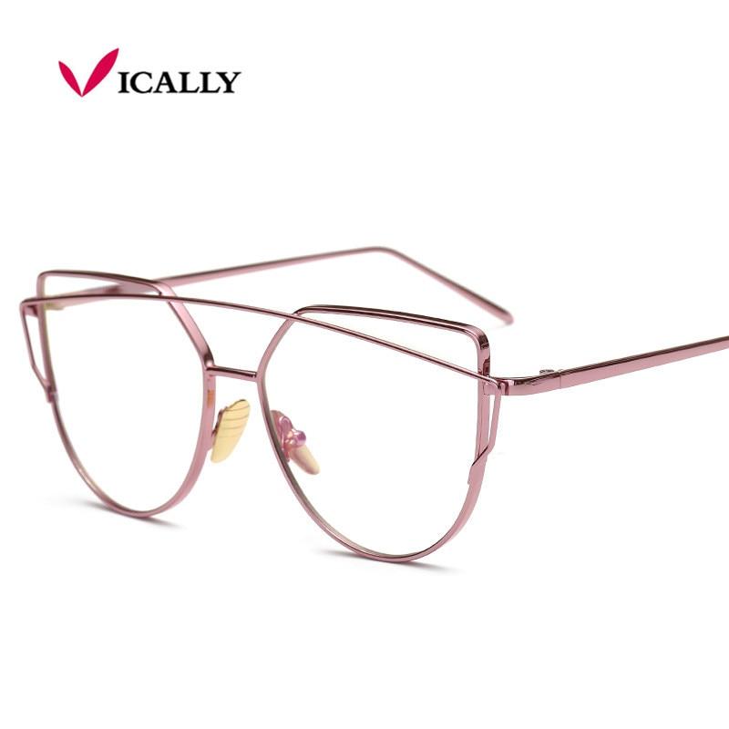 Syzet e kornizës prej metali prej ari për gratë për syzet femra - Aksesorë veshjesh - Foto 5