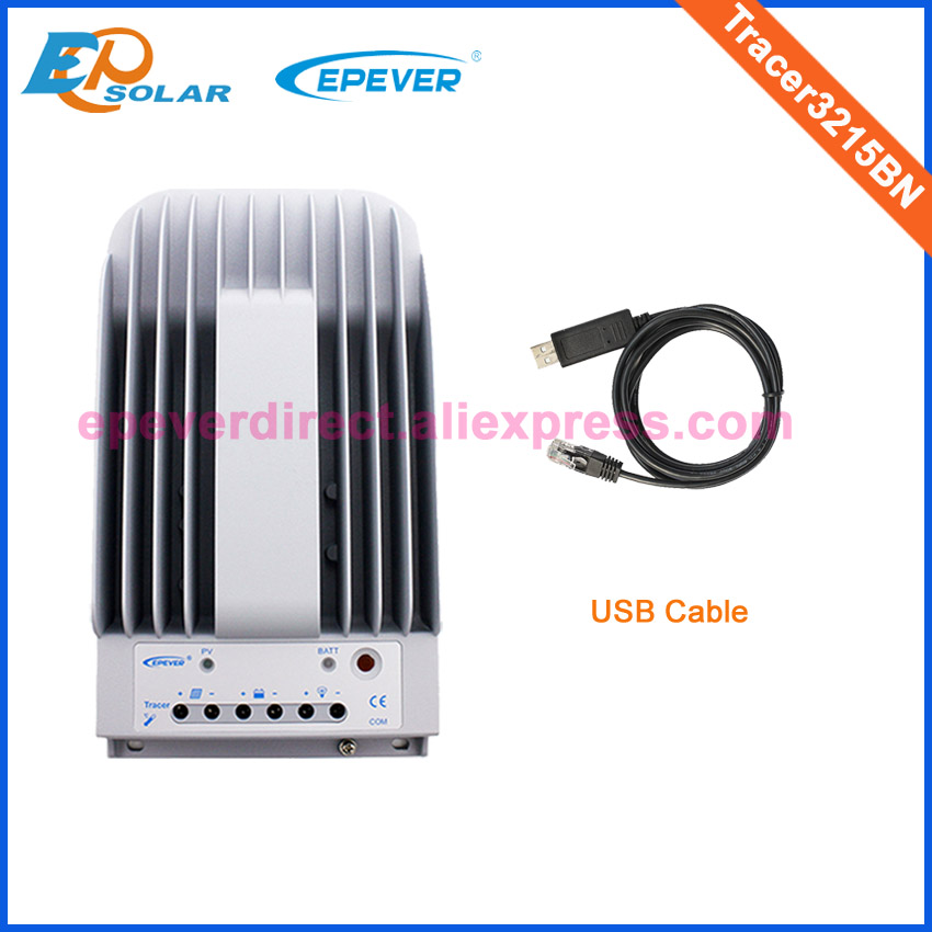 MPPT Solar regulator 30A 30amp Tracer3215BN with USB cable for 12v 24v auto workMPPT Solar regulator 30A 30amp Tracer3215BN with USB cable for 12v 24v auto work