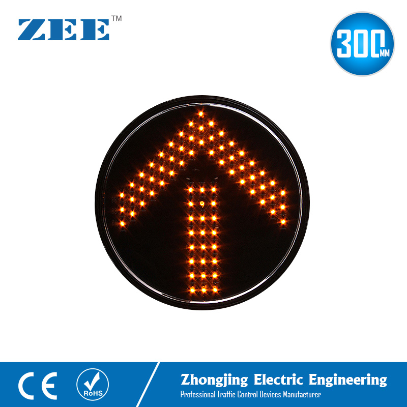 12 Inches 300mm Yellow Amber Arrow LED Traffic Lamp Round Replaced LED Arrow Signals Left Right Turn Arrow Signs