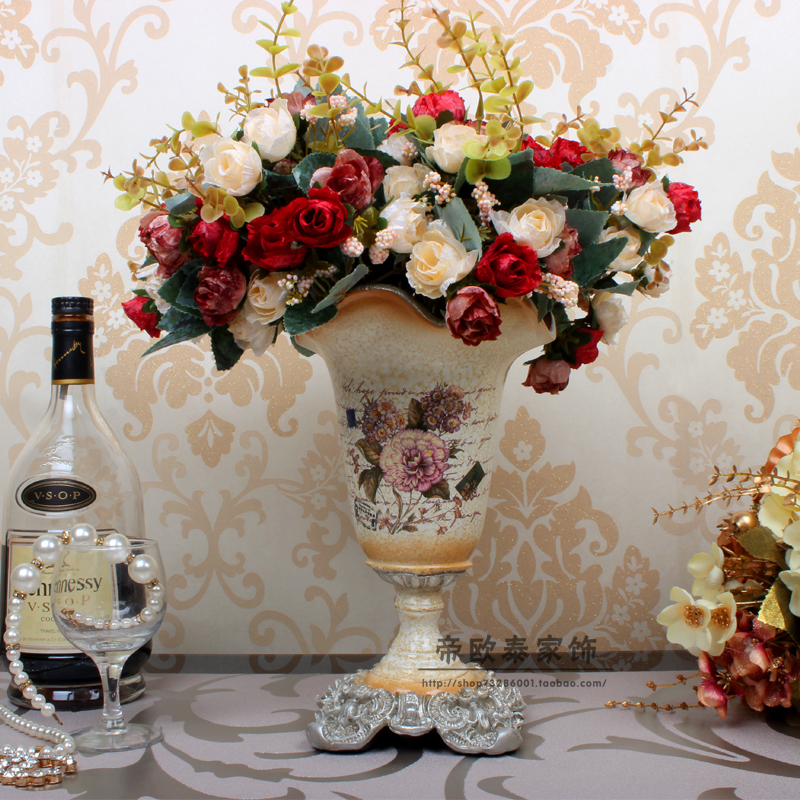 Wedding Gift Table Ideas: European High Grade Small Vase Wedding Gift Flowers Into