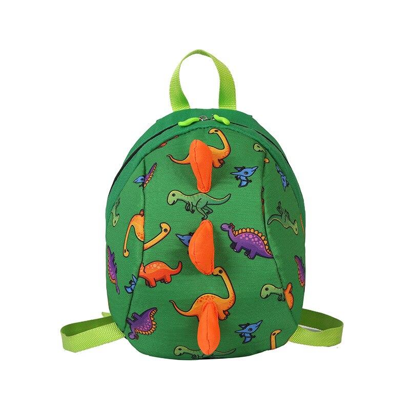 New baby dinosaur animal pattern boys and girls backpack kindergarten school bag childrens bag waterproof backpack.