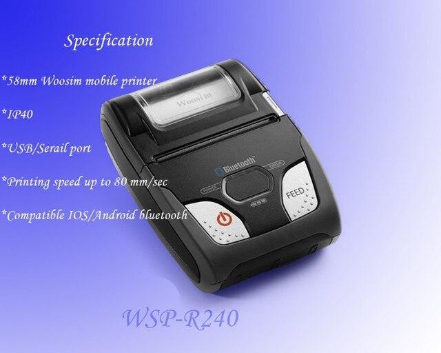 WOOSIM WSP R Invoice Printing Machine Android Handheld Bluetooth - Invoice printer machine