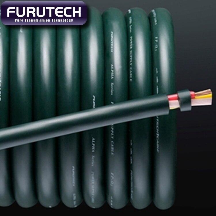 100 Genuine Falgship Furutech FP ALPHA 3 PCOCC Power Cable Best hi end Bulk OCC Power